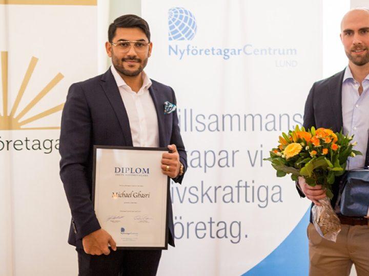 Kurera utsedd till årets nyföretag i Sverige 2018